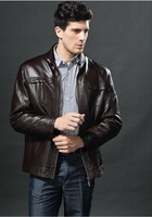 Free Shipping!!!Most popular men's clothing on sale sheepskin leather coat