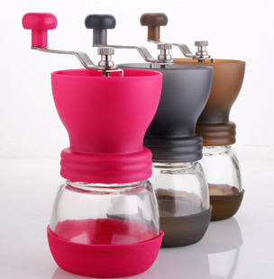 NEW ARRIVAL GATER Brand colorful design manual burr coffee grinder FREE SHIPPING to some countries