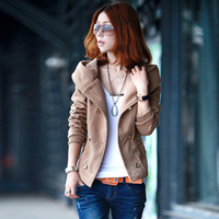 AYILIAN 2013 women's spring outerwear denim outerwear female spring and autumn sun protection clothing short jacket