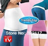 Cloth trendy top hip clothing ,the corset,2pcs/set,white and black per set