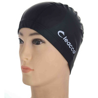 Swimming cap comfortable soft multicolour swimming cap quality PU coating fabric swimming cap
