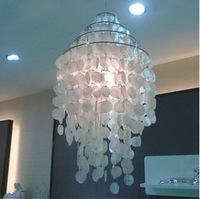 Led Bulb Gift Modern light Verner Panton Fun Pendant lamp Suspension Lighting Shell light