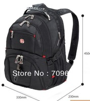 Stock good quality wenger swisswin swissgear laptop backpack 15.6inch laptop bag,schoolbag