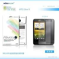 High Quality Original Nillkin HD Screen Protector For HTC T320e (One V), Anti-fingerprint,2PCS/lot ,free shipping