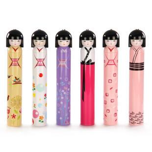 Girl umbrella mdash . cartoon style - three fold - gift - doll umbrella(China (Mainland))