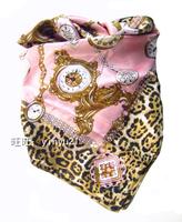 Mix Wholesale Lots Sale 90cm Bohemia Large Size Square scarf  Leopard Vintage Flower Printed Autumn Winter Wrap / Shawl