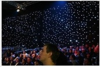 Led cloth led curtain multicolour star cloth dmx