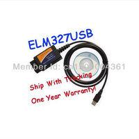 Wholesales Hot Selling OBD/OBDII Scanner ELM327 USB ELM327 V1.5a OBDII OBD2 USB Interface Auto Diagnostic Scanner Tool Cable