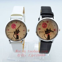 Fashion all-match women's electronic strap watch