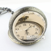 Fashion vintage pocket watch fashion watch necklace watch