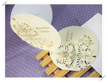 Free shipping wholesale Greeting card Christmas holiday greeting card john sands greeting card cowhide paper envelope