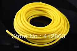 Free shipping top grade latex tube 3263 yellow color ,Multiple use,no any joints,malaysia natural materials,SOFT(China (Mainland))