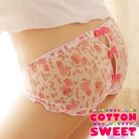 Bow sexy panties triangle panties t thong