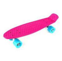 "Free Shipping 22"" Mini Long Skate Boards Plastic Penny Style Skateboard Longboards"
