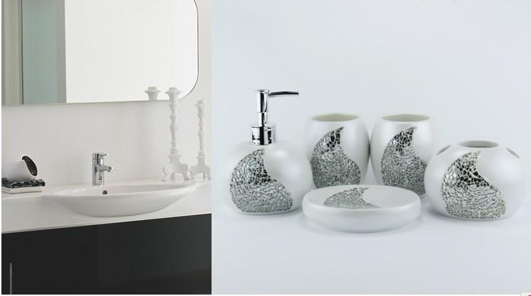 Free shipping luxury european palace wedding gift bathroom for Accessoires salle de bain de luxe