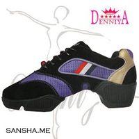 top qualuty Denniya 9366 elevator dance shoes purple color size EUR 34-40 free shipping