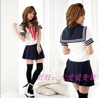 Students Cosplay Japanese sexy fassion sailor school Costume uniforms