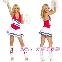 Cheerleaders cheerleading Costume popular World Cup soccer uniforms temptation racing girl baby
