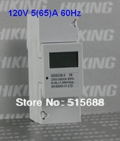 DDS238-2 120V single phase din rail type kWh meter