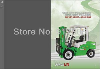 Falconlift Forklifts Spare parts Books & Operators Manual