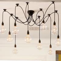 Edison Chandelier classic vintage ancient light living room chandelier dining room ceiling light