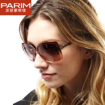 The left bank of glasses sunglasses female 2011parim women's vintage fashion sunglasses 9312