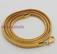 DN13 High Qulity ,Wholesale fashion Jewelry , Sales Promotion,18K gold plated Necklace for men,5mm Figaro Chain Necklace ,