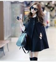 5231 women's 2013 winter cloak outerwear all-match woolen outerwear wool coat