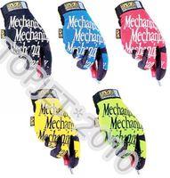 MECHANIX Wear Original gloves SIZE:SMALL MEDIUM LARGE XLARGE SIX COLORS S/M/L/XL