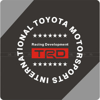 Quality Fuel tank stickers fuel tank cover car sticker car stickers trd reflectorised HH