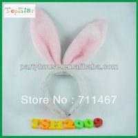 2013 hot sale Fluffy kids Rabbit ear headband