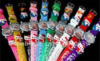 Free Shipping 20 pcs/lot Hello Kitty Children Boys Kids Quartz Cartoon Watches sun-002
