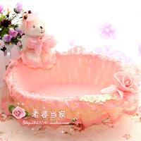 E HOME Rattan basket storage basket storage basket jewelry storage basket fruit plate JUL0311
