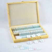 Wholesale and retail 91 pieces mixed set Prepared microscope slide