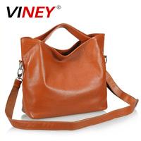 Viney first layer of cowhide 2013 women's genuine leather handbag cross-body women's one shoulder bag