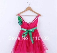 Wholesale - 2013 new arrivalgirl dress kids/children princess dress size 110-140 for girls 4-9 years old