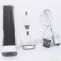 Free Shipping 1piece/Lot 2600mAh USB Universal Portable Power Bank External Battery Charger for Various Mobile Phones 730008(China (Mainland))