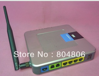 Unlocked+Free shippingLinksys WRTP54G 54Mbps VoIP full unlock to NA/w 5dB antenna Wireless Router 2/PCS