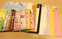 Cute Animal / stationery envelopes set / cartoon color beautiful romantic love letter,18 sheets letter paper + 9pcs envelopes