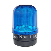 4PCS Free shipping Car Safety Blue Strobe Light with Magnetic Base