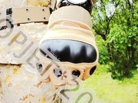 M-Pact Style Half Finger Tactical Gloves Airsoft Paintball free shipping