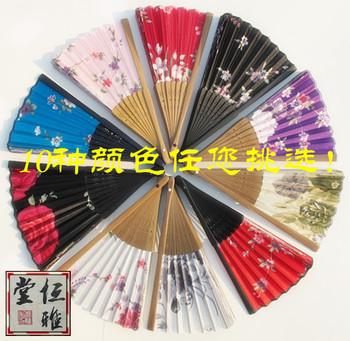 10 chinese style fan folding fan kimono japanese style dance blank business gift