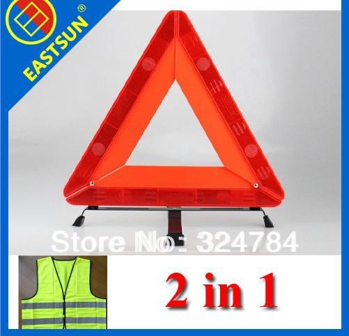 Eastsun auto car parking reflective font b warning b font folding