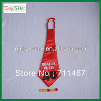 "Free shipping Novelty Printing Red '40"" Necktie for Party 10pcs/lot"