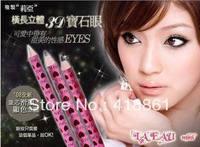 Free shipping fashion shiny 3D Universal  eyebrow pencil waterproof sweat proof eye makeup Wholesale