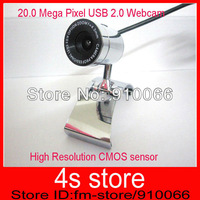 BRAND NEW 2.0 Mega Pixel USB 2.0 Webcam  for PC  Laptop & COMPUTER ,Plug and play, drive free