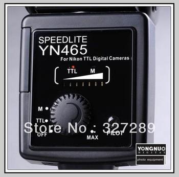 Retail Sale YONGNUO LED Flash Speedlite YN-465 YN65 for All Digital Camera Hot Sale