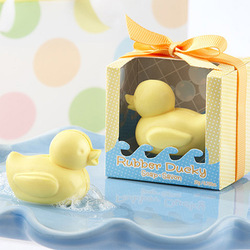 10pcs/lot Free Shipping Little Duck Shape Handmade Soap Wedding Gift Scented Decorative Hand Soaps(China (Mainland))