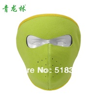 Winter thermal fleece windproof face mask ride mask skiing mask