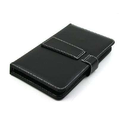 Free Shipping Black Leather Case with Micro USB Interface Keyboard for 7 inch MID Tablet PC(China (Mainland))